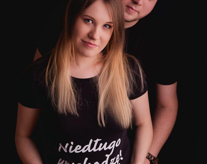 Sesja ciążowa w studio Kraków