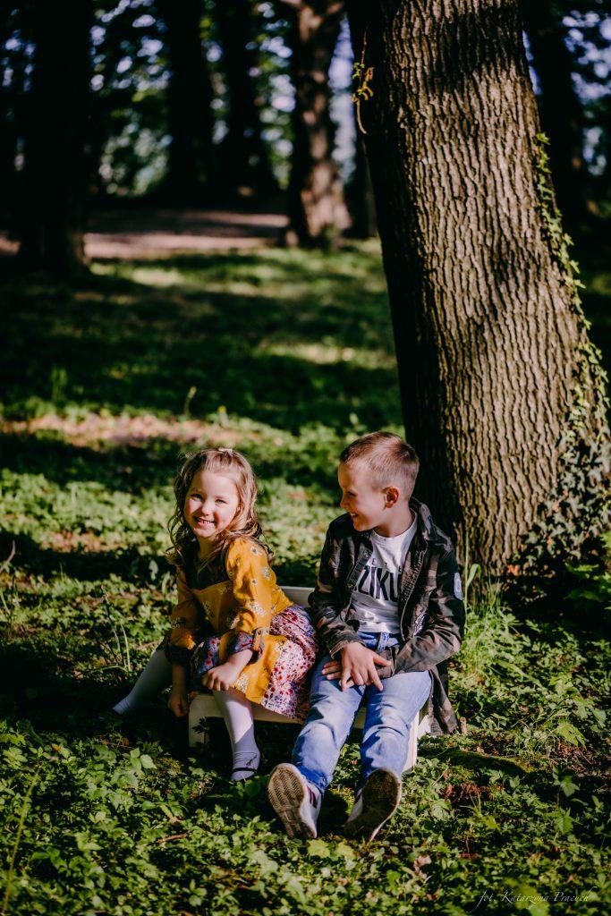 Sesja dziecięca w plenerze Kraków, Małopolska