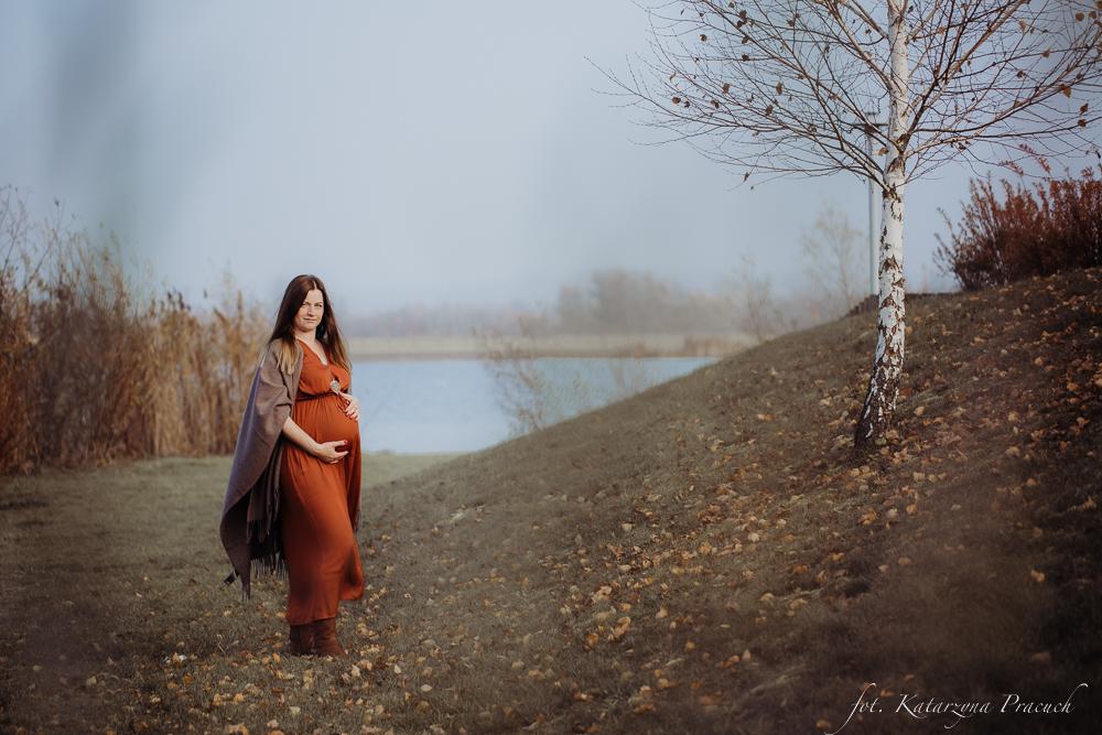 Jesienna sesja ciążowa Kraków
