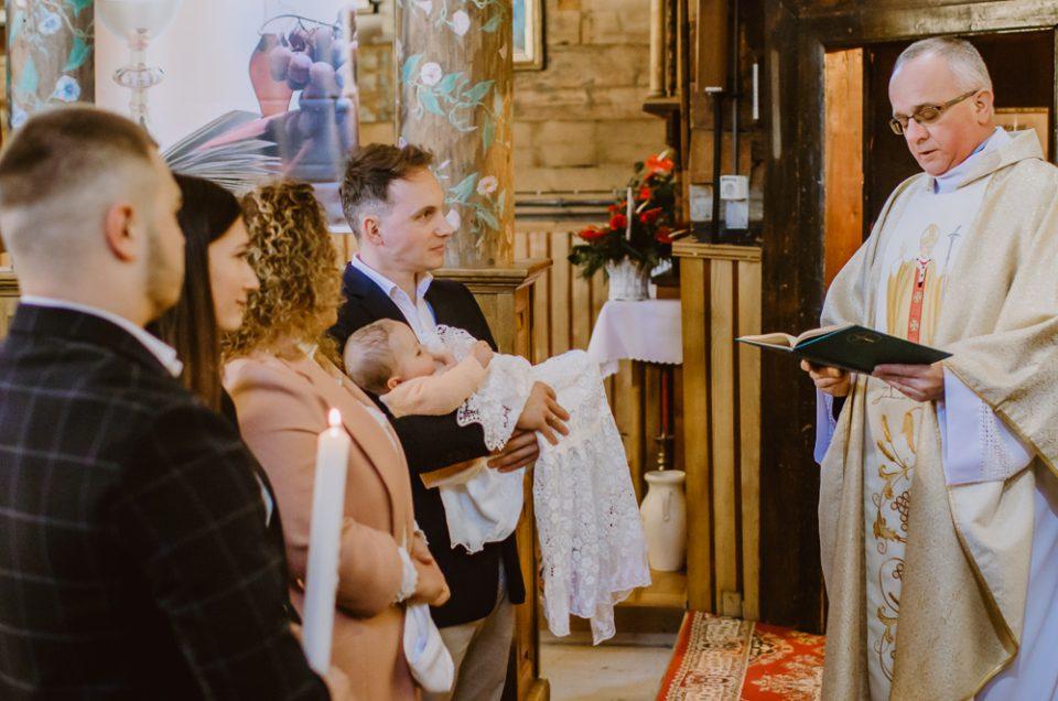 Chrzciny Oliwii | Kościół w Skawinkach | Willa Tadeusz w Lanckoronie