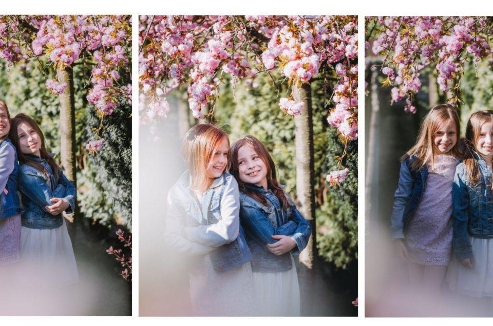 W zaczarowanym ogrodzie – wiosenna sesja Antoniny i Marysi