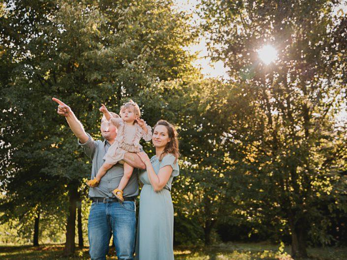 Sesja rodzinna w Brzoskwinia Ogród