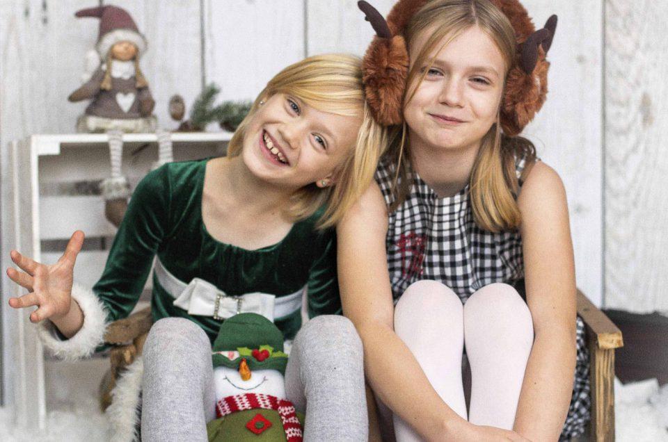 Świąteczne mini sesje w studio – Dominika, Lena i Julia